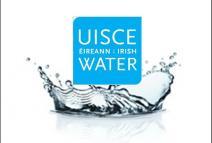 Irish Water Logo in a Splash