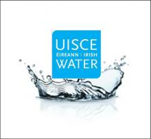 Irish Water Logo in a Splash